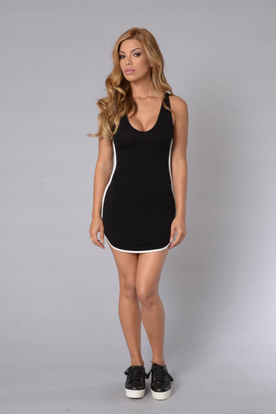 Top of the Line Dress - Black