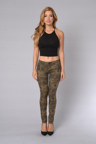 In Charge Pants - Camo