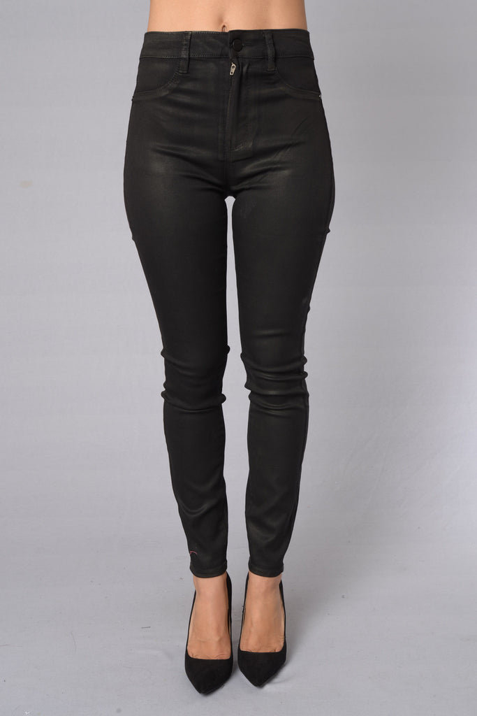 Born To Be Wild Jeans - Black