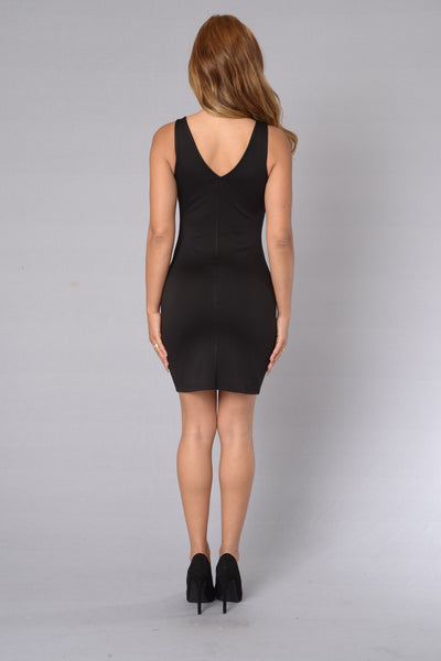 Bulletproof Dress - Black