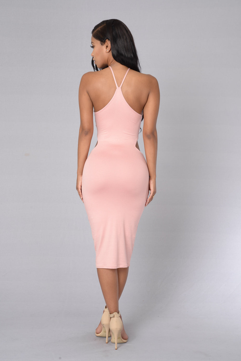 At First Sight Dress - Dusty Pink