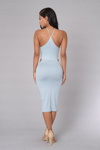 At First Sight Dress - Blue