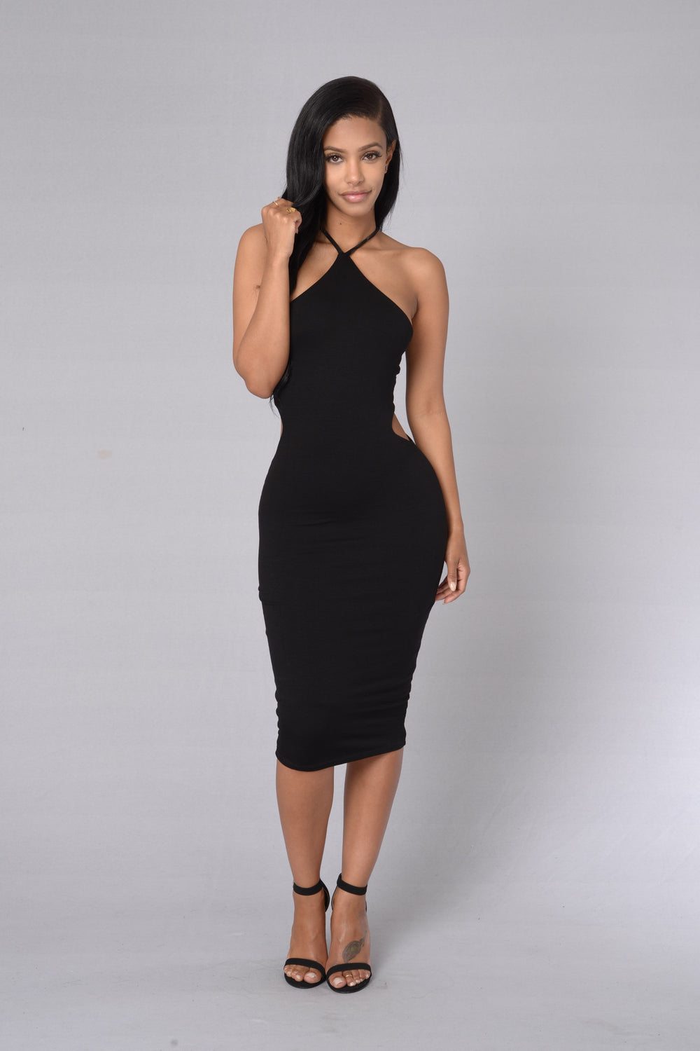 At First Sight Dress - Black