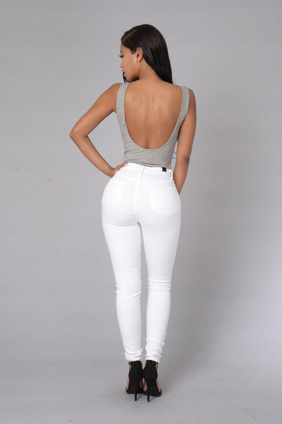 Simplicity Bodysuit - Heather Grey