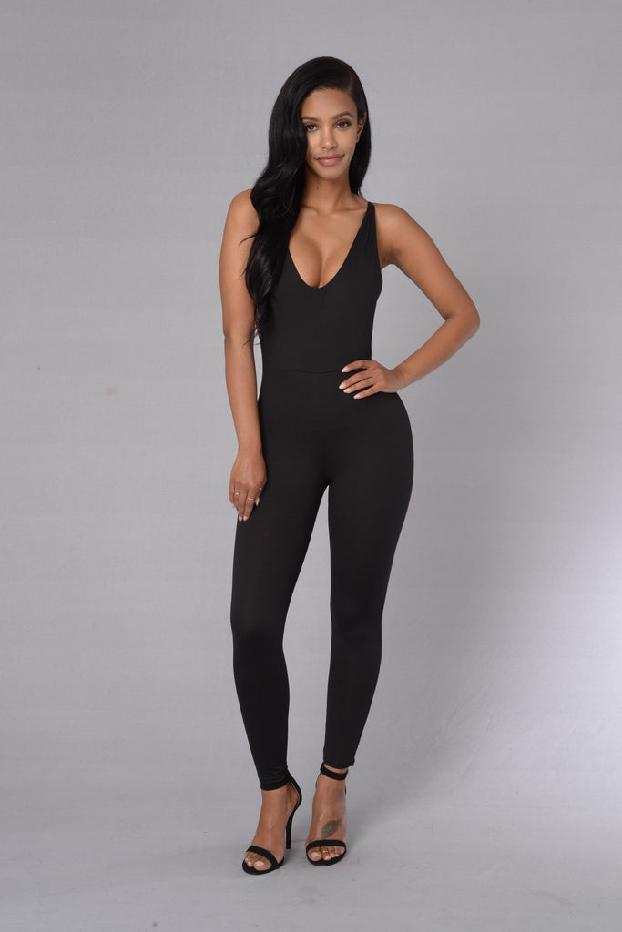 Wild N Out Jumpsuit - Black