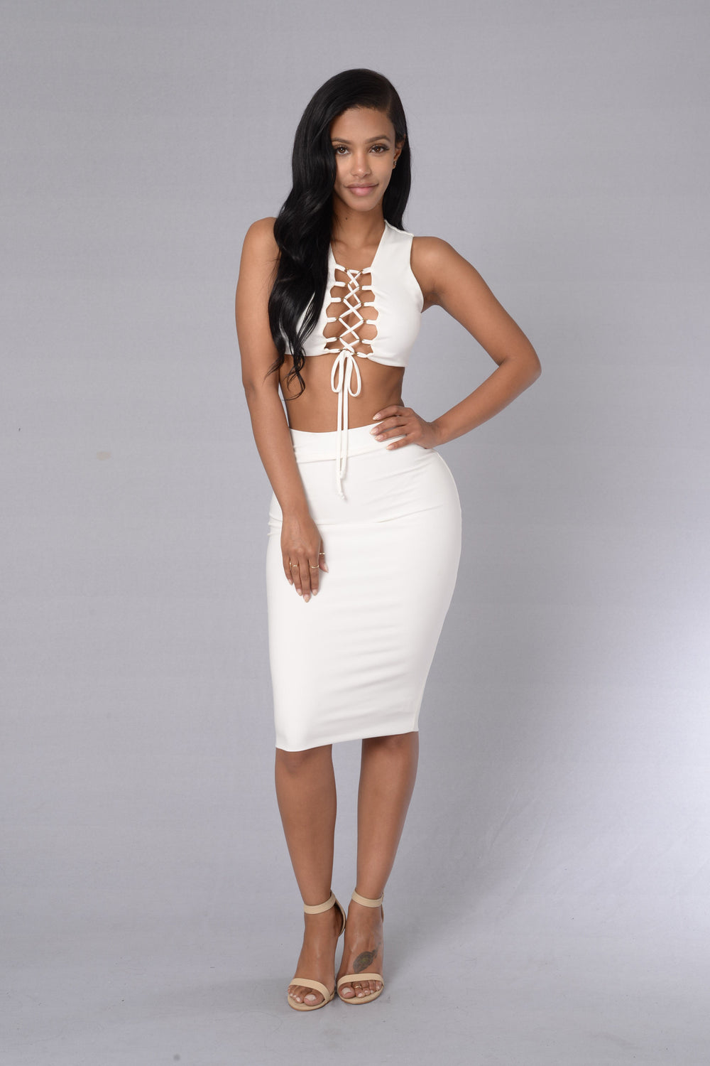 Divine Choice Skirt - Ivory