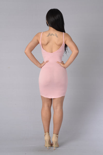 Happy Days Dress - Blush