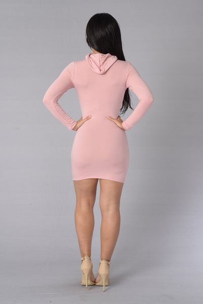 Sara Dress - Blush
