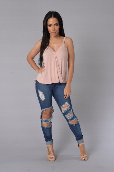 Blind Date Top - Pink