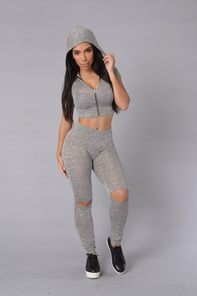 Wanderer Top - Grey