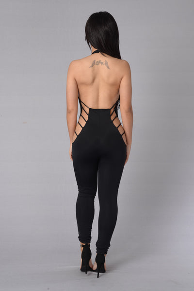 New Flame Jumpsuit - Black