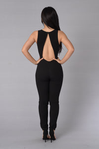 Power Trip Jumpsuit - Black