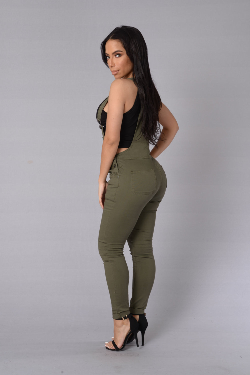 Exclusive Overalls - Olive