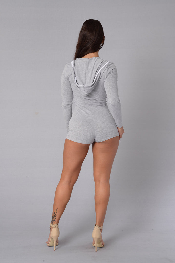 Banzi Romper - Heather Grey