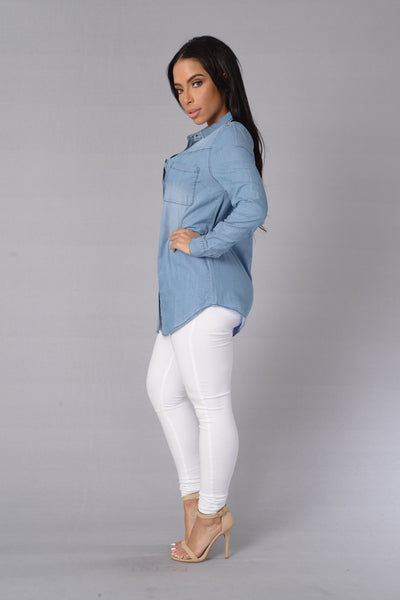 Tennessee Top - Light Indigo