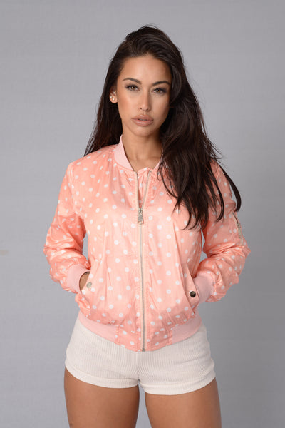 Minnie Jacket - Peach