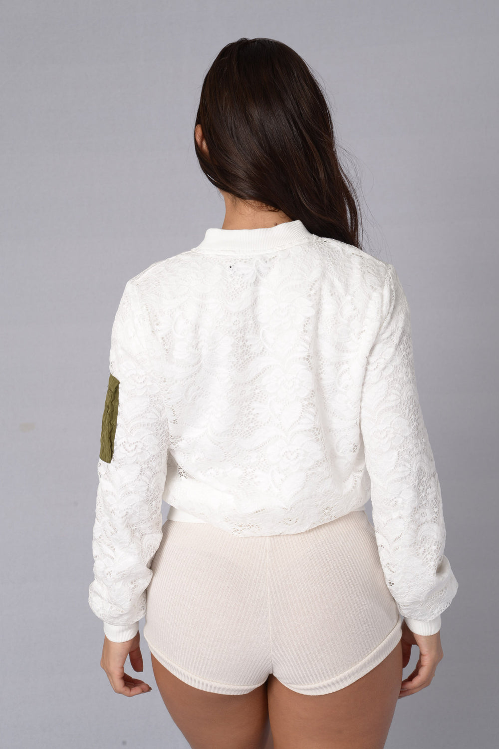 Love Lace Jacket - White