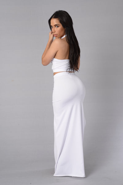 Believe In Skirt - White