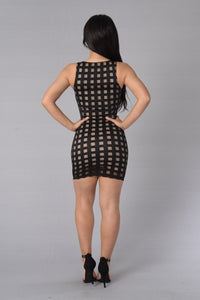 Chatterbox Dress - Black