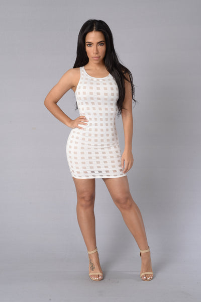 Chatterbox Dress - Off White