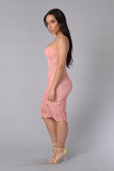 Secret Admirer Dress - Rose