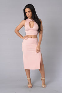 Make You Melt Skirt - Pink