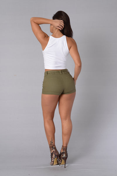 Safari Shorts - Olive