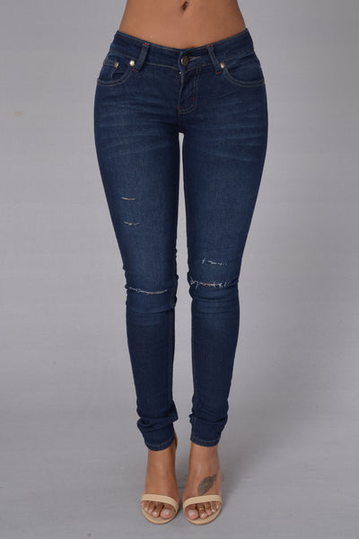 Cut-Throat Jeans - Dark