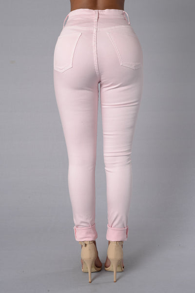One That I Want Jeans - Blush