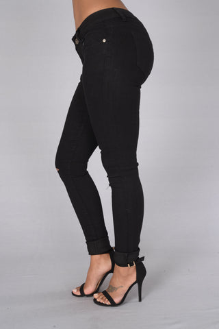 Kneed These Jeans - Black