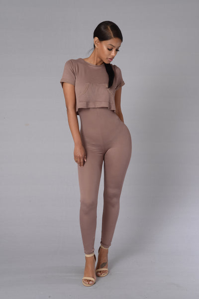 North West Jumpsuit - Khaki