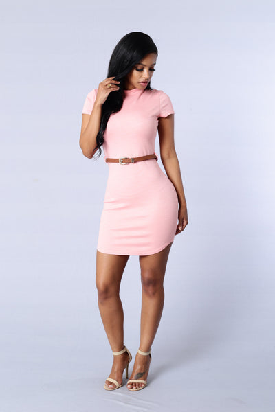 Hilary Dress - Peach