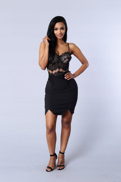 Happily Ever After Dress - Black