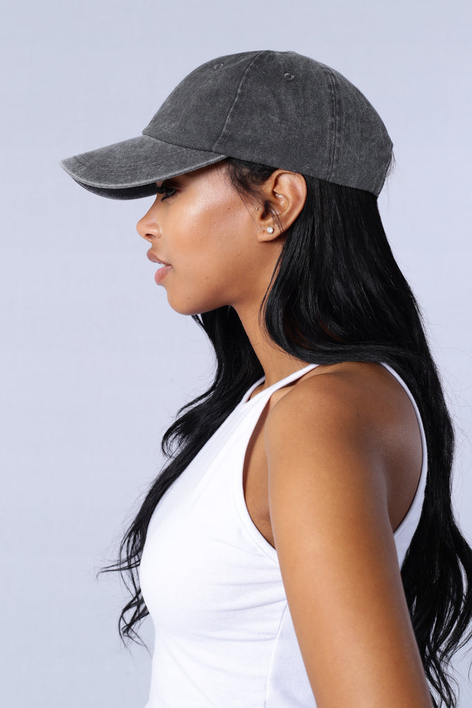 Low Profile Cap - Grey