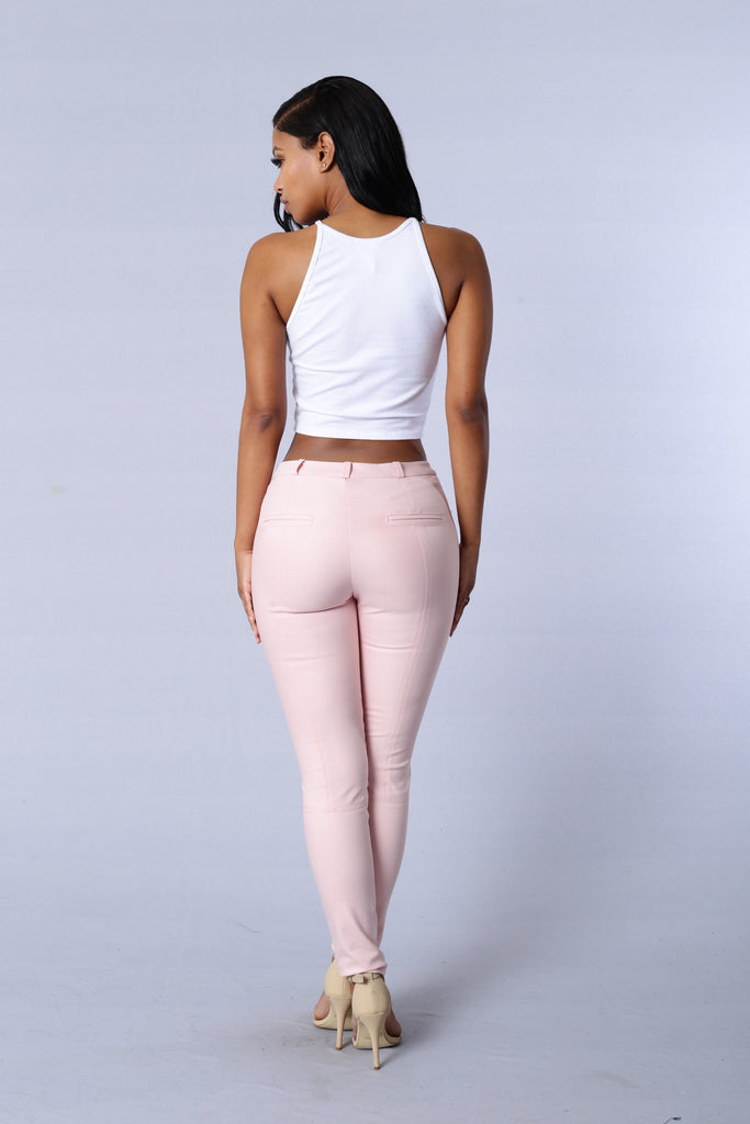 Pretty in Pink Pants - Blush
