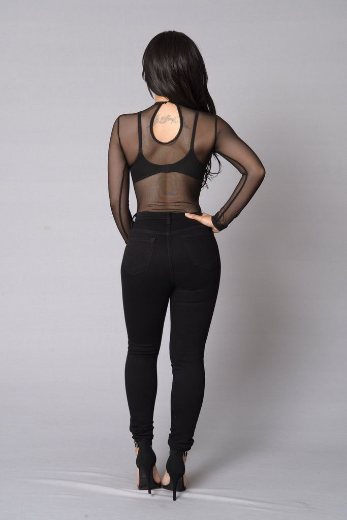 Show Stopper Bodysuit - Black