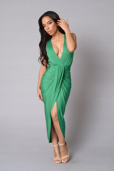 Aristocrat Dress - Green
