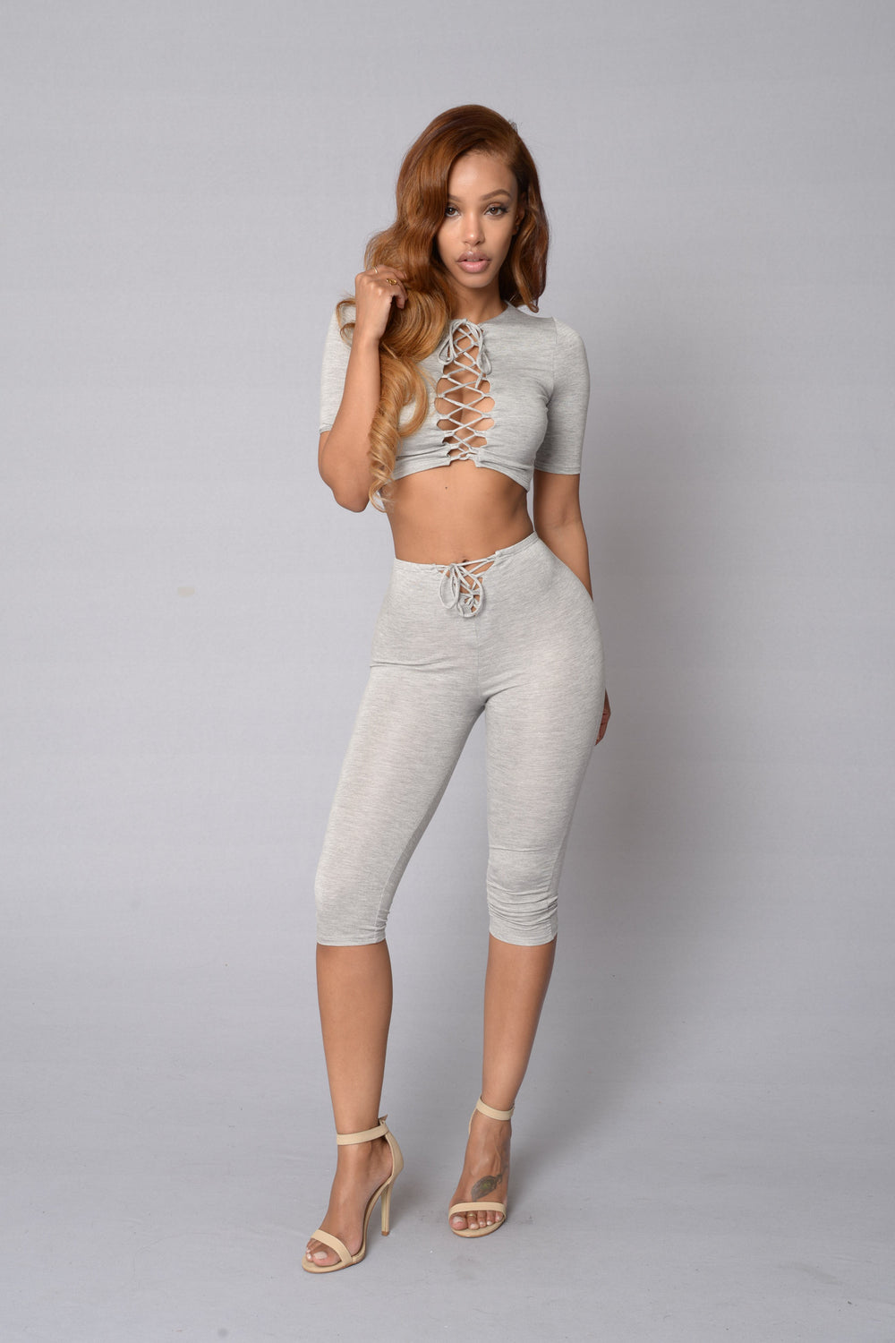 Your Woman Crush Top - Heather Grey