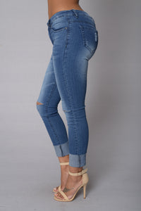 Mean Walk Jeans - Blue