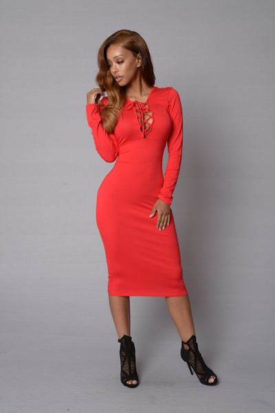 Kara Dress - Red