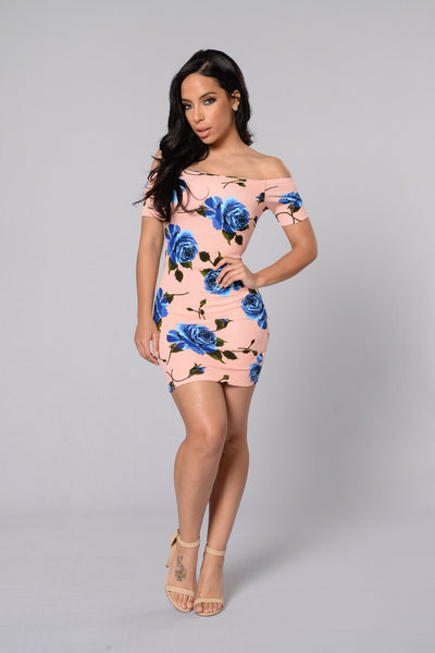 Sofia Dress - Peach