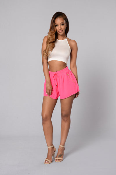 Chic Shorts - Hot Pink