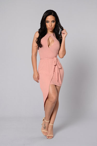 Malibu Dress - Dusty Pink
