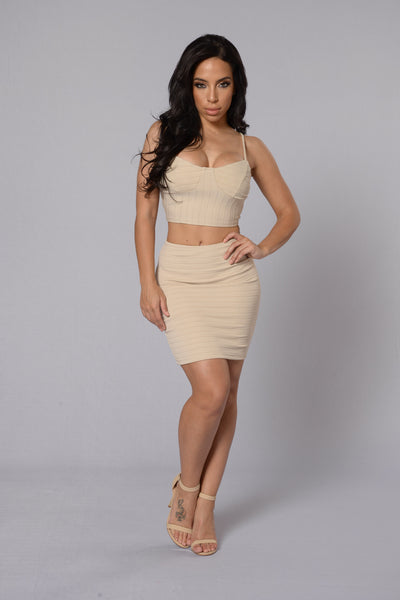 Guideline Skirt - Taupe