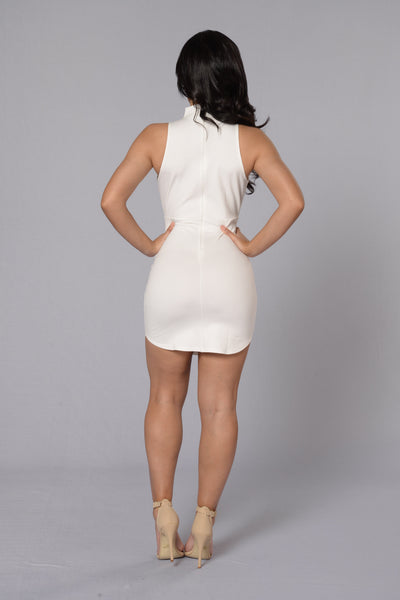 Alina Dress - White
