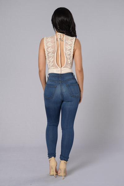 Your Dream Girl Bodysuit - Ivory