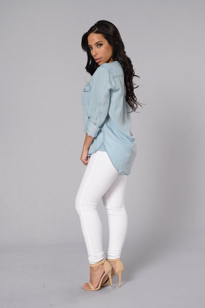Show Down Denim Shirt - Light