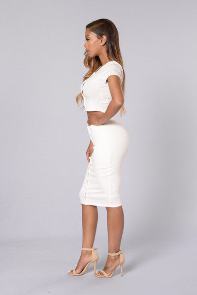 Be You Skirt - Off White