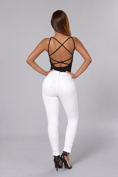 Night Show Bodysuit - Black