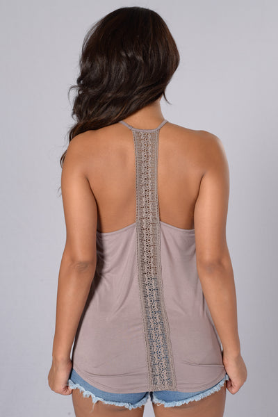 Topenga Tank - Purple Grey